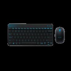 罗技无线键鼠套装 MK240(黑色)