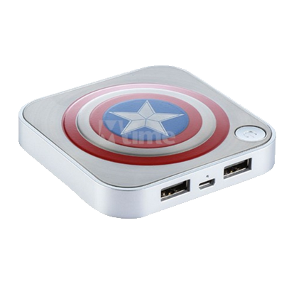 美国队长炫酷充电宝图片